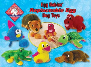 """Plush Puppies - Egg Babies Replacement - 3 Pack - 9""""H x 9""""W x 10""""D"""