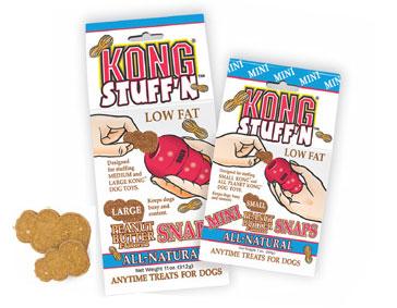Kong - Stuff N Peanut Butter Mini Snaps - Small