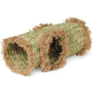 Prevue Pet Products - Grass Small Animal Tunnel - Natural -  Natural