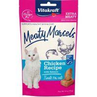 Vitakraft Pet - Meaty Morsels Cat Treat - Salmon - 1.4 Oz