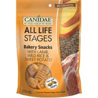 Canidae - All Life Stages - Bakery Snacks Dog Treats - Lamb/Wild Rice/Sweet Potato - 14 Oz