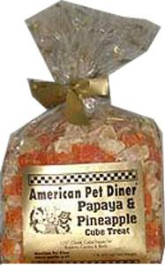 American Pet Diner - Papaya Cube Treat - 6 oz-6 oz-