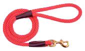Mendota Pet - Snap Leash - Red - 1/2 Inch x 4 Feet