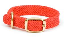 "Mendota Pet - Double Braid Junior Collar - Red - 9/16""w up to 12 Inch"