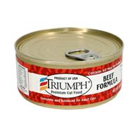 Triumph Pet - Canned Cat Food - Beef - 5.5 oz
