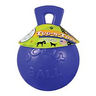 Horsemens Pride - Tug-N-Toss Ball - Blue - 10 Inch