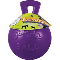 Horsemens Pride - Tug-N-Toss Ball - Purple - 10 Inch