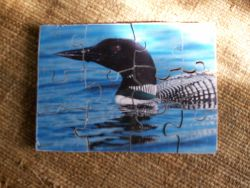 Fine Crafts - Wooden Loon Jigsaw Puzzle