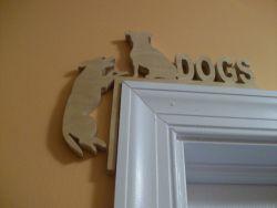 Fine Crafts - Corner Dogs Wood Display