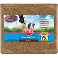 Kaytee Products - Clean And Cozy Small Pet Bedding - Natural - 1728 Cubic Inch