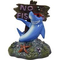 Blue Ribbon Pet Products - Exotic Environments Cool Shark No Fishing Sign