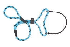 Mendota Pet - Black Ice Big Dog Walker - 1/2 Inch x 6 Feet - Turquoise