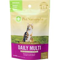 070029F.030Pet Naturals Of Vermont - Daily Multi Chews For Cats - Fish - 30 Count