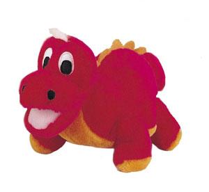 "Plush Puppies - Egg Babies - Dinosaur - 9""H x 9""W x 10""D"