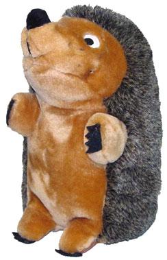 "Plush Puppies - Hedgehog Deluxe Jumbo - Brown - 7""W x 11""H"