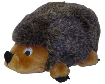 "Plush Puppies - Hedgehog II - Grey - Large - 6""W x 12"" H X 6""L"