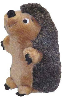 """Plush Puppies - Hedgehog Jr - Brown - 3""""W x 3""""H X 6""""L"""