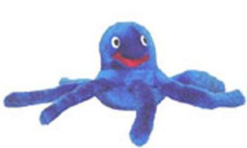 """Plush Puppies - Octopus Jr - 3""""W x 3""""H X 6""""L"""