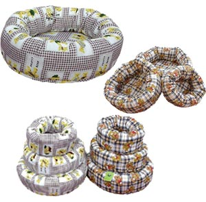 Metro Traders - Donut Bed Assortment - 6 Piece Beds