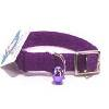 Hamilton Pet - Braided Safety Nylon Cat Collar - Purple - 0.38 Inch x 10 Inch