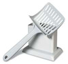 Doskocil - Handy Stand Litter Scoop - White - 3.8 Inch