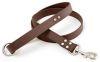 Mendota Pet - DuraSoft Snap Lead - Brown - 1 Inch x 6 Feet