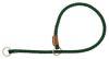 Mendota Pet - Show Slip Collar - Hunter Green - 18 Inch