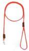 Mendota Pet - British Show Snap Leash - Red - 1/8 Inch x 4 Feet