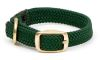 "Mendota Pet - Double Braid Junior Collar - Green - 9/16""w  up to 12 Inch"