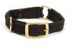 "Mendota Pet - Center Ring Collar - Black - 1""w up to 24 Inch"
