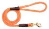Mendota Pet - Snap Leash - Orange - 1/2 Inch x 6 Feet