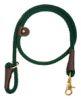 Mendota Pet - Quick Lead - Green - 1/2 Inch x 4 Feet