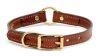 Mendota Pet - Narrow Hunt Collar - Chestnut - 3/4 Inch x 14 Inch