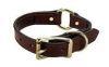 Mendota Pet - Wide Hunt Collar - Chestnut - 1 Inch x 16 Inch