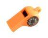 Mendota Pet - Sportsman's Whistle with Compass & Temp Gauge - Orange
