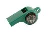 Mendota Pet - Sportsman's Whistle with Compass & Temp Gauge - Green