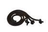 Mendota Pet - Training Dummy Throw Ropes - Black
