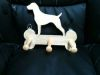 Fine Crafts - Wooden Labrador Leash Hanger