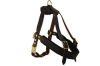 Angel Pet Supplies - Aspen Leather Harness - Brown - Medium