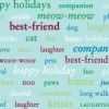 Pet Party Printz - Holiday Greetings - 39 X 26 Inch
