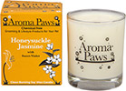 Aroma Paws - Honeysuckle Jasmine - Glass Candle In Box - 8 oz