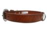 Angel Pet Supplies - Dallas Elite Collar - Brown - 18 X 3/4 Inch