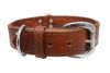 Angel Pet Supplies - Dallas Elite Collar - Brown - 22 X 1.5 Inch
