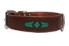 Angel Pet Supplies - Sierra Elite Collar - Brown - 26 X 2 Inch