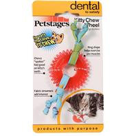 Petstages - Kitty Chew Wheel Cat Toy - Red