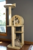 Iconic Pet - Multi Level Cat Tree Playground with multiple sisal posts and condo - Beige