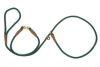 Mendota Pet - Small Swivel Slip Lead - Hunter Green - 3/8 Inch x 6 Feet