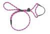Mendota Pet - Black Ice Dog Walker - 3/8 Inch x 4 Feet - Raspberry