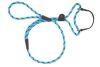 Mendota Pet - Black Ice Dog Walker - 3/8 Inch x 4 Feet - Turquoise