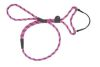 Mendota Pet - Black Ice Dog Walker - 3/8 Inch x 6 Feet - Raspberry